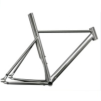 Titanium ISP track bicycle frame fixed gear bike frame