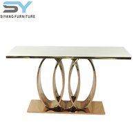 China factory offer stainless steel console table
