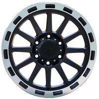 New Design High Quality 17*9 PCD6 * 139.7 off-road vehicle alloy wheel rims