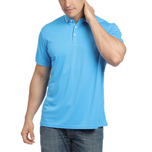 Casual individuelles logo blank solide farben kurzarm polo shirts männer