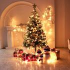 1.5m Giant Size Indoor Double Color Artificial Pine Needle Christmas Tree