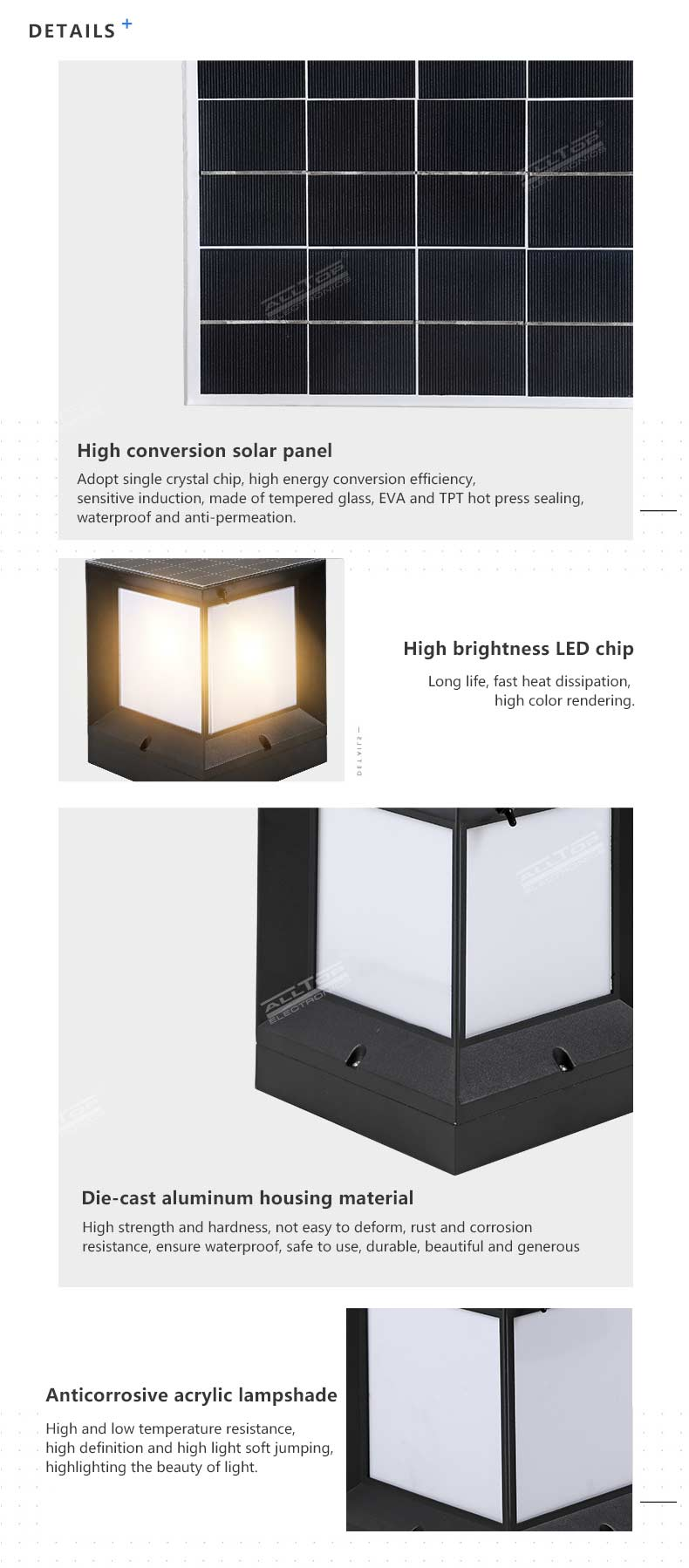 ALLTOP high end solar landscape lights-13