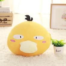Новая креативная мягкая подушка для рук Snorlax Psyduck Jigglypuff Eevee, плюшевая игрушка для детей, Офисная плюшевая кукла из аниме(Китай)