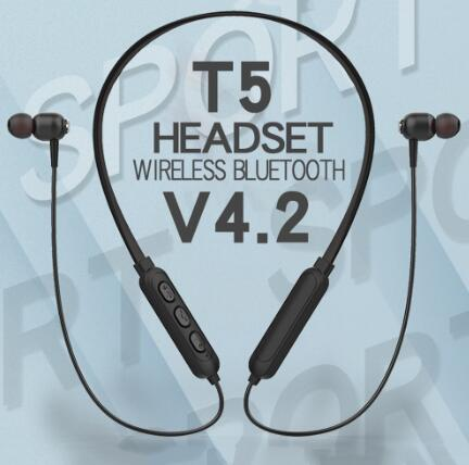 Wholesale wireless headset with charging case noise canceling headset for all phone
