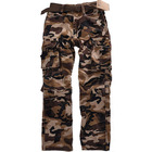 Custom made Military style cargo camo 6 pockets cotton casual camouflage pants