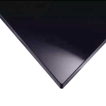 Manufacturer toughened 6mm Architectural Construction Building project black  tempered laminated  glass wall panel  Wholesale