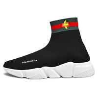 Brand Logo Custom Balanciaga Shoes Women and Mens Sports Trainers Sneakers Sock Running Shoes US 13 EU 47 Big Size