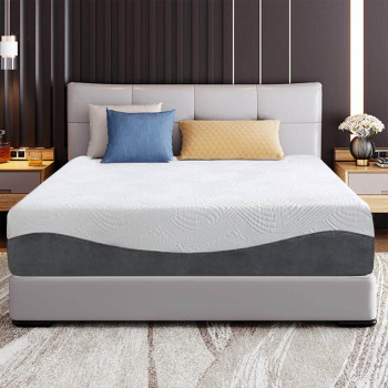 Materassi Bedding.12 Inch King Size Memory Foam Mattress Double Bed Premium