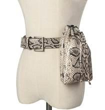 Mihaivina Python поясная сумка, Женская поясная сумка, поясная сумка, роскошные брендовые поясные сумки, кожаная женская сумка, сумка-ведро, оптовая...(Китай)