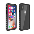Custom IP68 Waterproof Shockproof Face ID TPU Water Proof Underwater Sports Outdoor Case Cover for iPhone X XS Cell Phone Case