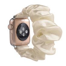 Эластичный ремешок для apple watch, 31 цвет, спортивный браслет для iwatch 5, 4, 3, 2, 1(China)