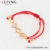 77082 Xuping charm Red Rope Stretched, Adjustable Bracelet with Beads  C21804