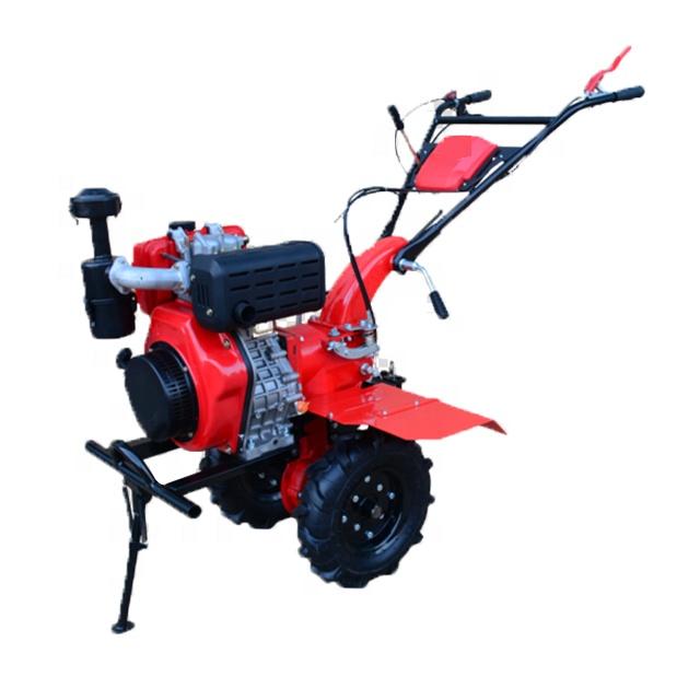 177F/P Agricultural equipment cultivator motocultor farming motoculteur gasoline power mini tiller price list 7HP 9HP