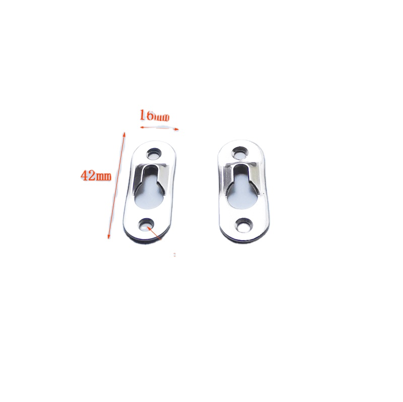 Metal Keyhole Picture Frame Hangers Hanging Plate Frame hanger Hook for Mirror Picture Frames