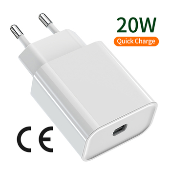 USB C Wall Charger 20W PD Type C Plus 1 USB US EU AU Plug pd charger universal for Ipad Pro iPad Pro iphone adapter