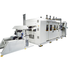 Full-Automatic Plastic PET Formech Sheet Vacuum Forming Cutting and Punching Machine