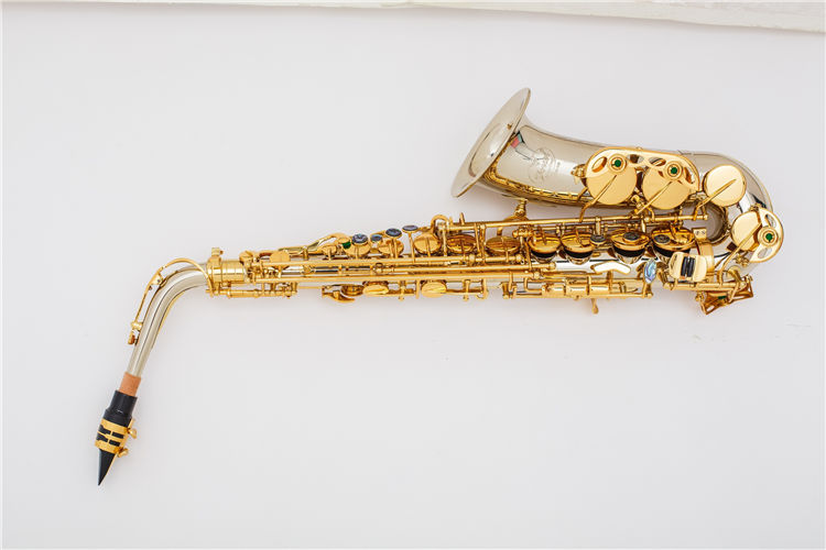 2020 hot selling product professional musical instrument tenor brass body saxophone