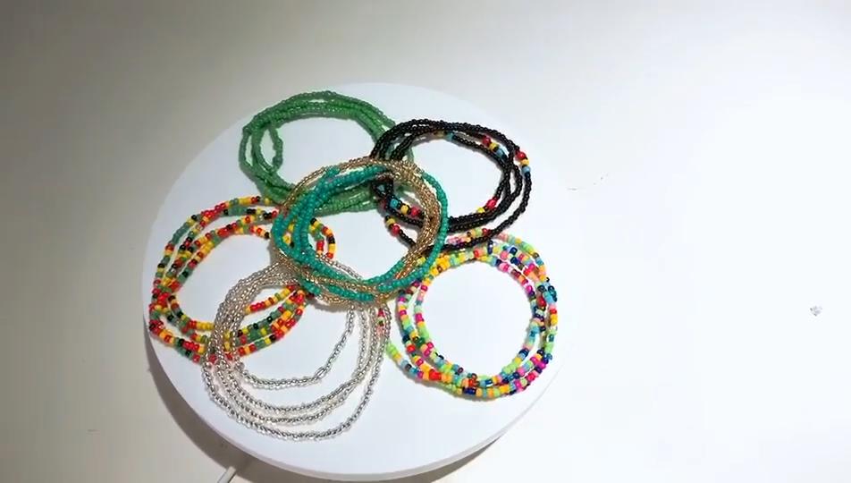 Verano joyería de la cintura de conjunto de la cintura del vientre cintura africana de cuerpo cadena con cuentas Cadena, cadena del vientre, Bikini joyas