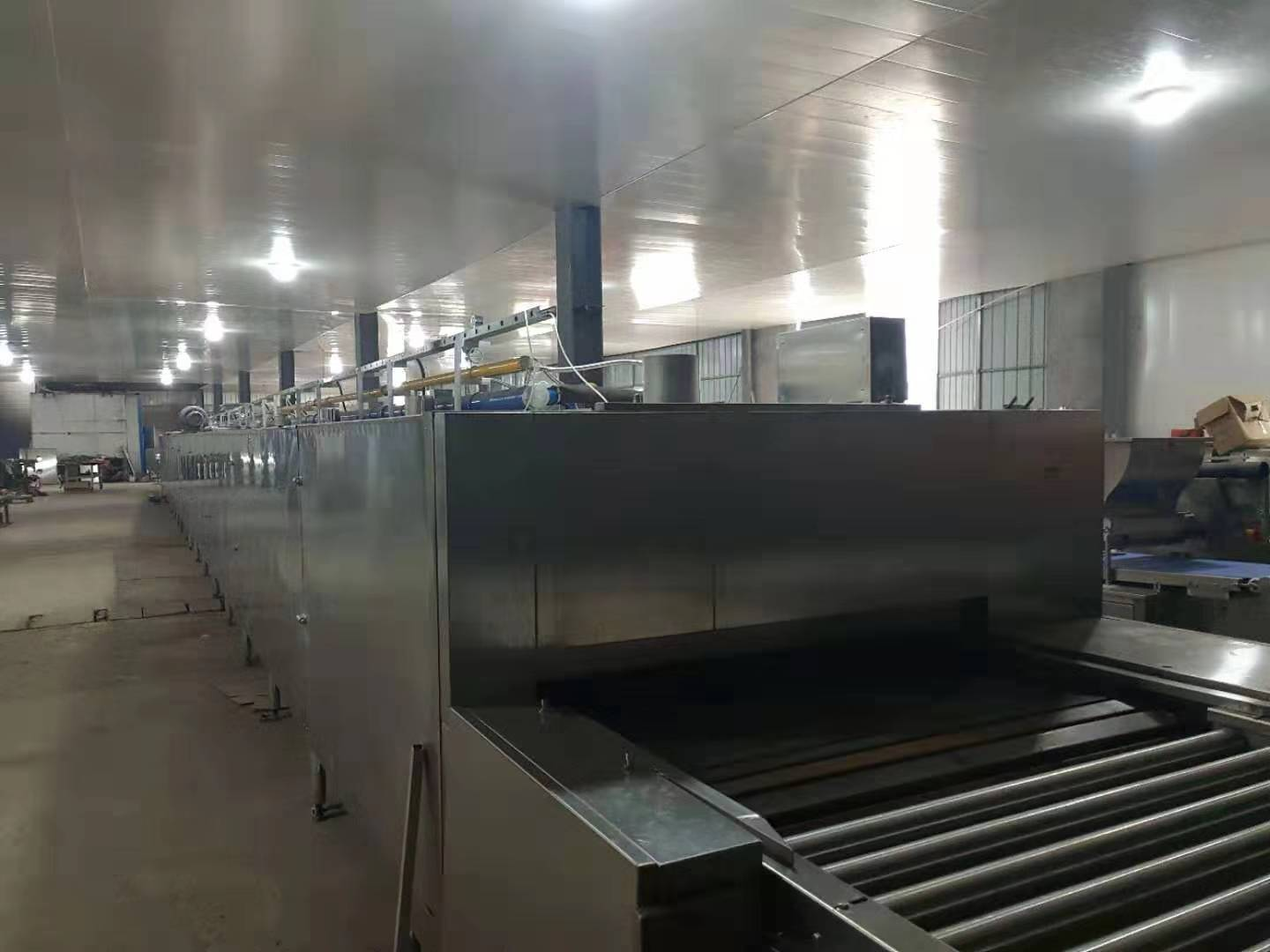 Full automatic cake /biscuits/cookies tunnel baking oven bakery oven prices
