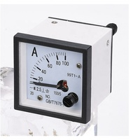 0.1 To 100A Voltmeter Moving Iron Type Ac Analog Panel Meter Voltmet Ammet