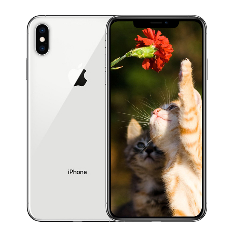 Unlocked Apple Used iPhone X Face ID 256GB ROM 5.8 inch Mobile Phone 3GB RAM 12MP Hexa Core iOS A11 Dual Back Camera 4G LTE