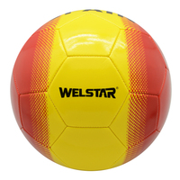 Christmas Hallowmas Promotion Soccer Ball Football Bright Color PVC Machine Sewn Balls with Good Performance