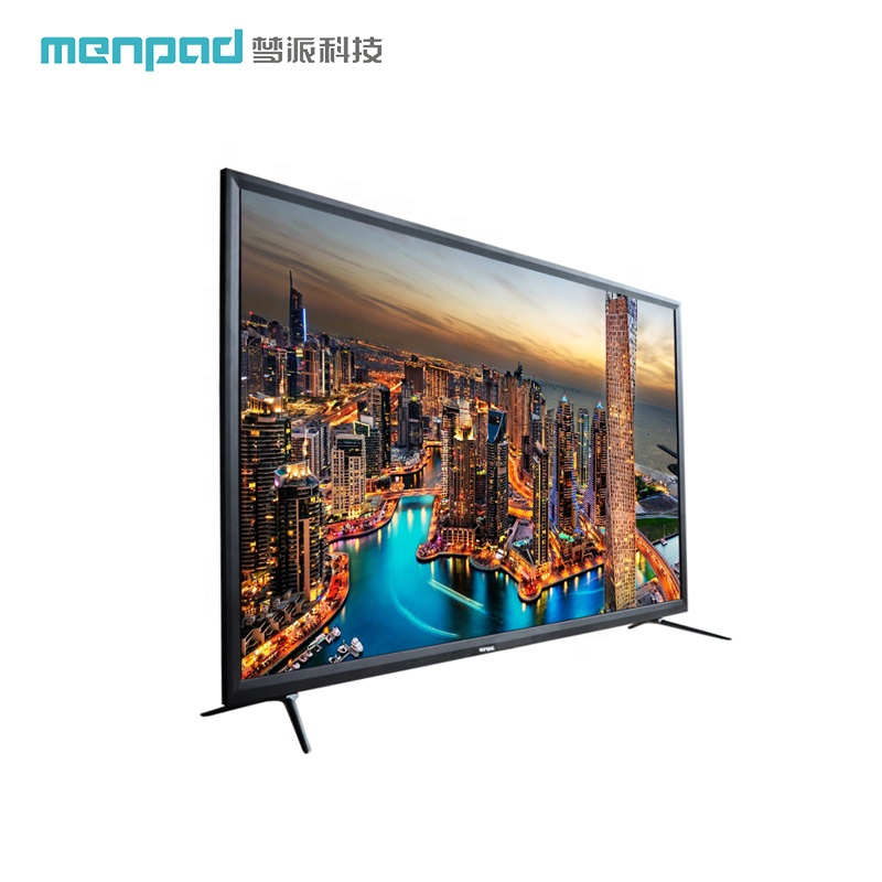 Ultra thin Network OD15 1G+8G 55 inches smart television 4K tempered glass wifi <strong>tv</strong>