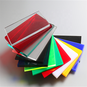 High Reflective Superior Impact Resistance Green 4*8ft 5Mm Offcut Clear Cast Acrylic Sheet Flexible Framing For Light Boxes