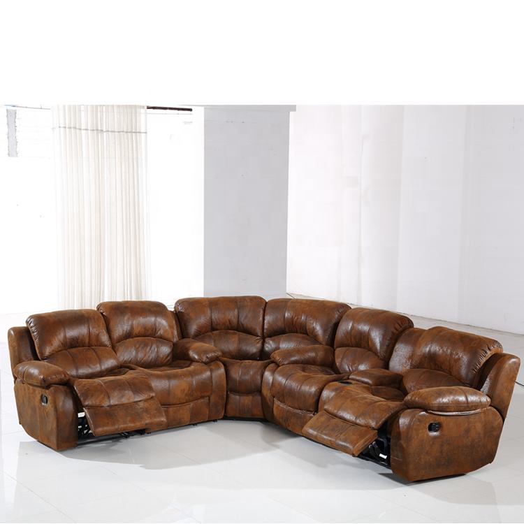 Montel Semi Circle Sectional Sofa