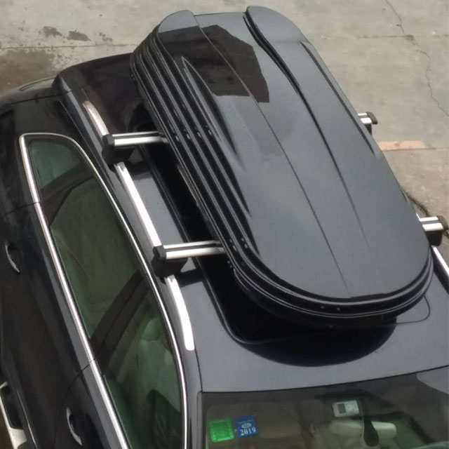 Vacuum forming ABS+ASA material 450L plastic Cargo Roof box for luggage storage