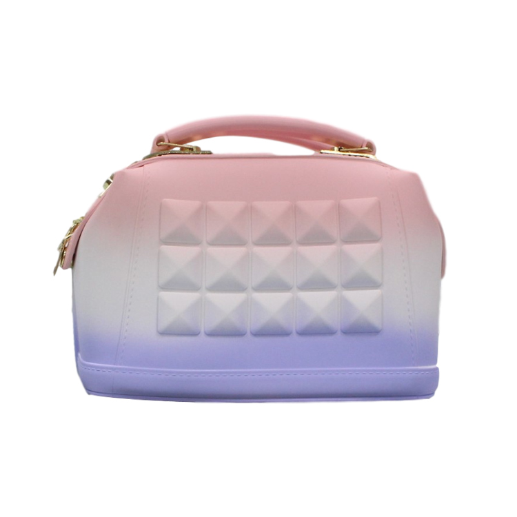 hot sell Fashion colorful women new arrival jelly purse jelly handbags rainbow color NEW arrival color