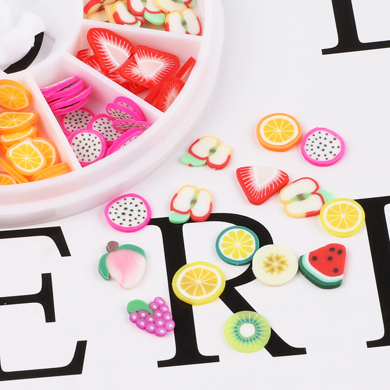 3d colorful mixed fruit style designs kids nail polish stickers nail sticker children kids nail stickers