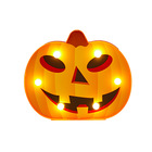Halloween LED Light Decoration Pumpkin Ghost Spider Bat Shaped Battery Operated Lights for party