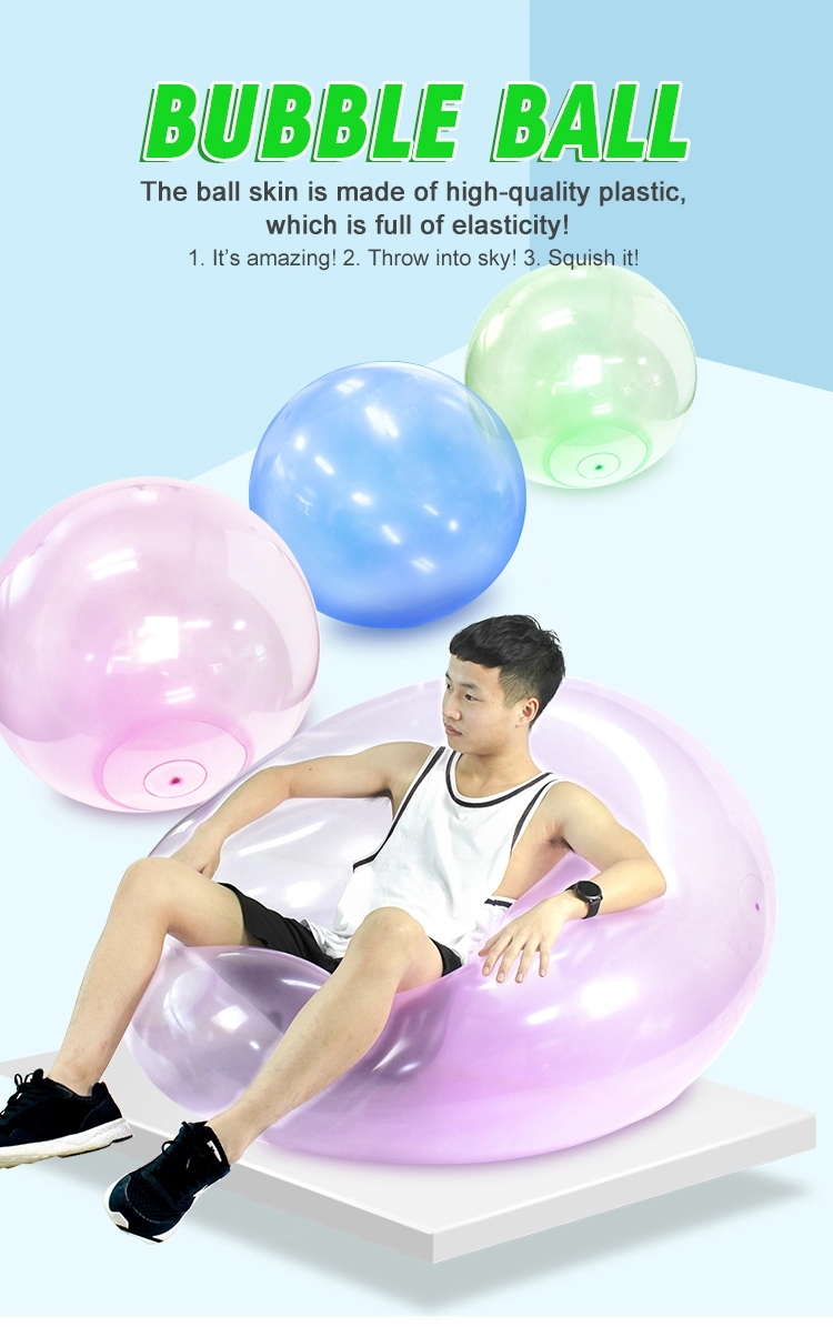 Giant inflatable TPR ball Jumbo China Wholesale Promotional Printed Inflatable Toys Beach Ball Balloon Bubble Ball