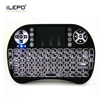 Cheapest GX-K08II wireless keyboard and air mouse Remote 2.4G RF wireless Control Android/Windows/Linux/Mac OS for TV box