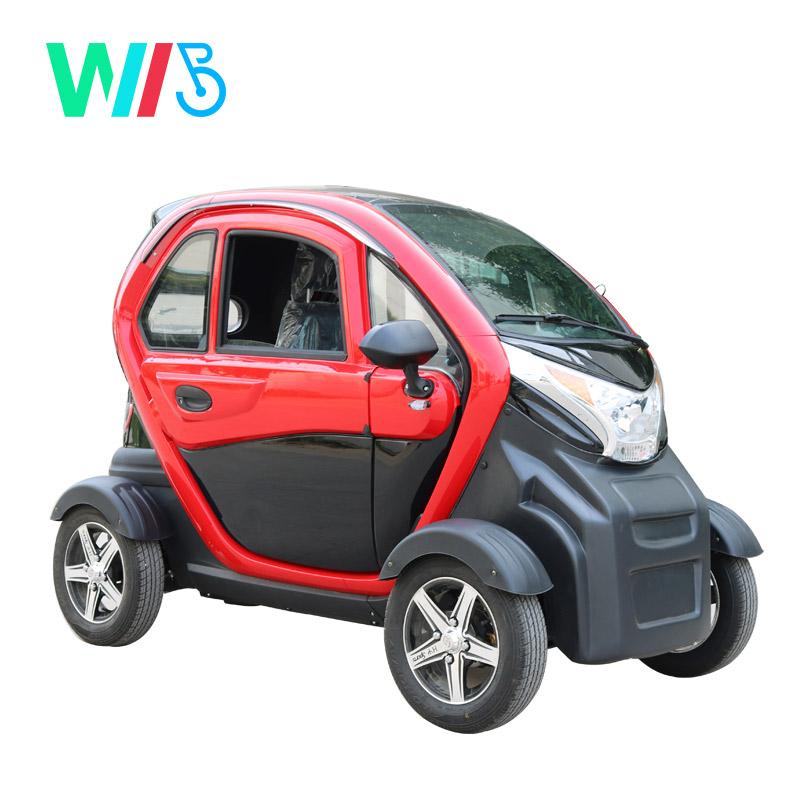 चीनी उच्च प्रदर्शन गर्म बिक्री 1200w मोटर बिजली के मिनी कार के लिए 3 सीटों मिनी इलेक्ट्रिक वाहन/कार