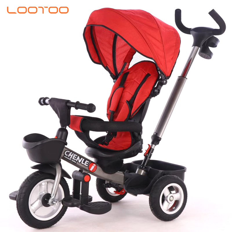 en 71 eco-friendly customized mini cheppest price simple wagon kids tricycle with light and music for kindergarten in india