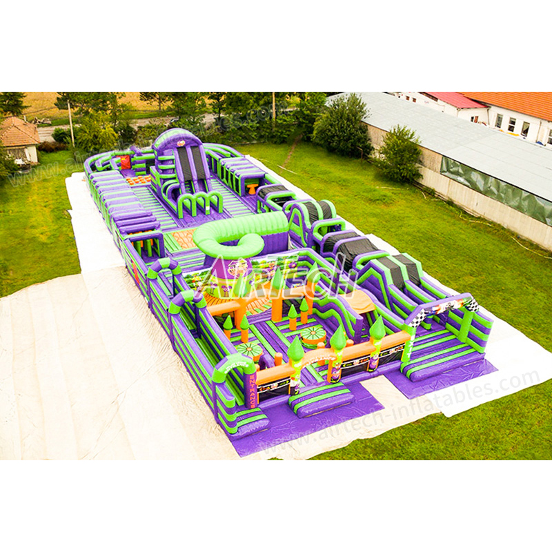 Airborne adventure inflatable jumping park