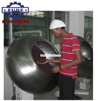 Cashew nuts chocolate coating machine for sale