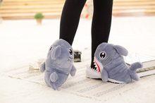 Домашняя плюшевая теплая обувь с животными; Хлопковые тапочки; Обувь для костюмированной вечеринки с изображением панды и полярного медвед...(Китай)