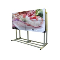 Big size USER brand 4k full hd 46inch LCD video wall with touch screen advertising tv