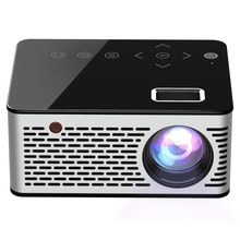 T200 500ANSI Lumens 1080P Full HD Touch Control Mini Hiburan Rumah Pintar Proyektor Built-In Speaker dukungan <span class=keywords><strong>AV</strong></span>/HDMI/TF