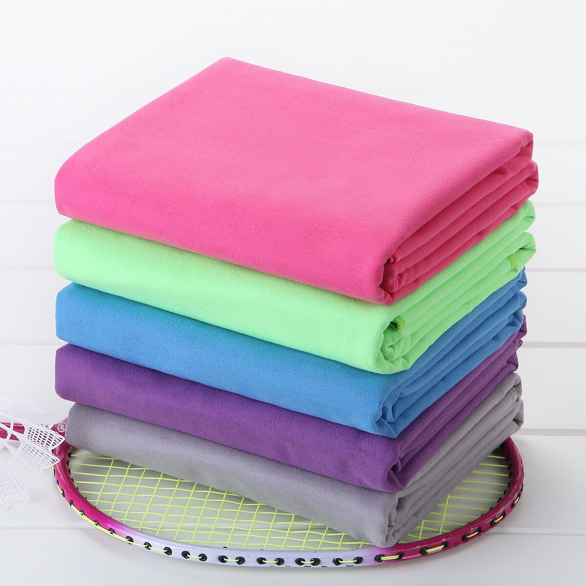 Wholesale Suede sports quickly dry towels