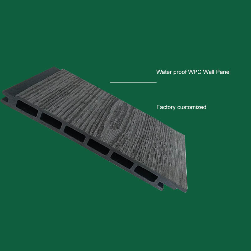 Hot sale anti-UV wood plastic composite outdoor wpc fence panel