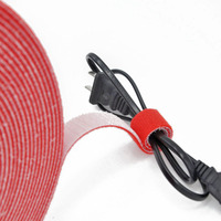 Nylon Cable Organizer Wire Winder Clip Earphone Holder Mouse Cord Protector HDMI Cable Management