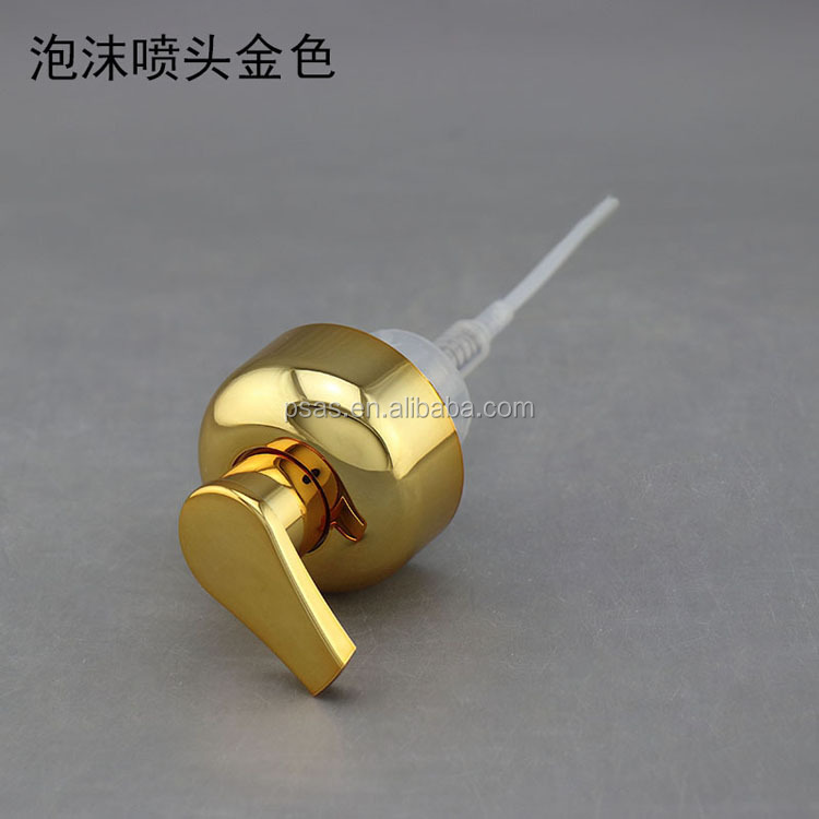High quality bathroom metal stainless steel foaming soap pump plastic foam pump
