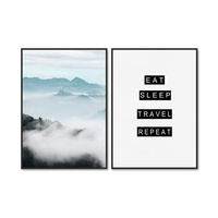 Nordic Canvas Prints Motivational Poster Wall Art for Living Room Decor