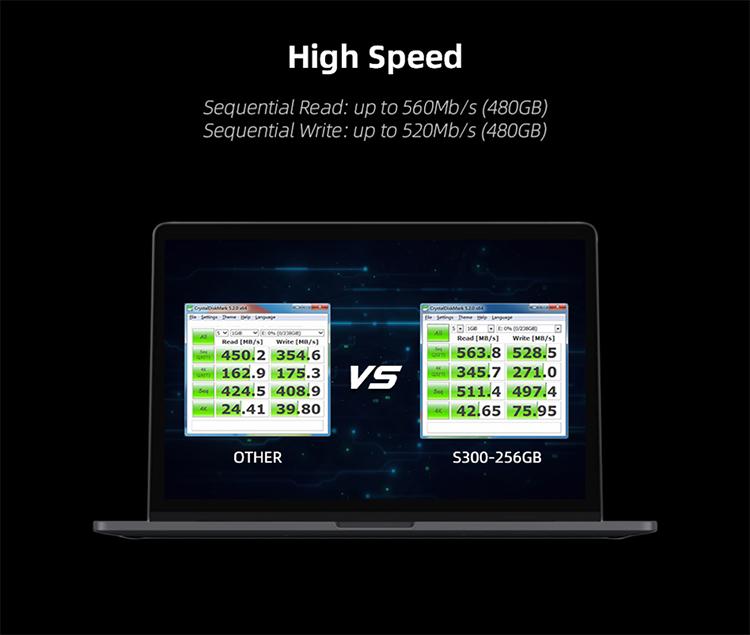 KingSpec 64GB 128GB 256GB 512GB 1TB 2TB SATAIII 3D TLC Ssd Ổ Đĩa Cứng 25 Inch SATA3 128G Ssd