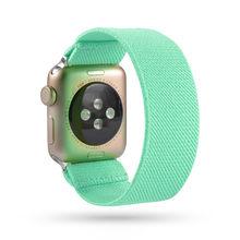 Резной эластичный ремешок для Apple Watch 5 ремешок 38 мм 42 мм для iwatch серии 5 4 3 2 1 ремешок 40 мм ремешок 44 мм браслет петля(Китай)