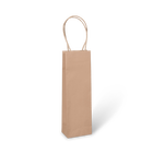 One Bottle Wine Bag - Paper Twist Handle